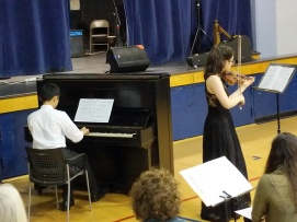 Daniel Mori (piano) & Julia Jones (violin)